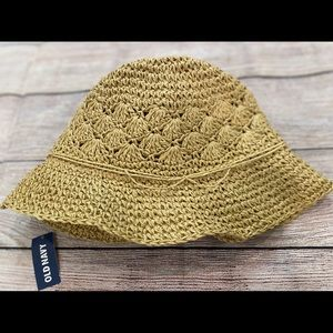 NWT Old Navy Straw Hat